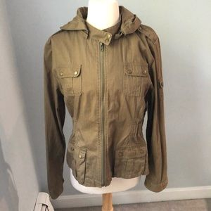 Ashley zip up cargo jacket